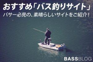 おすすめ「バス釣りサイト」まとめ。バス釣りをする方必見の、素晴らしいサイトをご紹介!