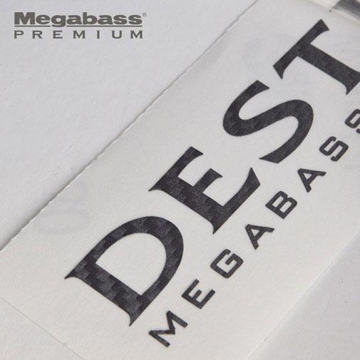 メガバス「カーボンステッカー」がカッコイイ!デストロイヤーの新ロゴも!タックルボックスや愛車のドレスアップにぜひ。