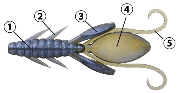 食い渋りに強いコンパクトボディには、釣れる仕掛けがいっぱい!