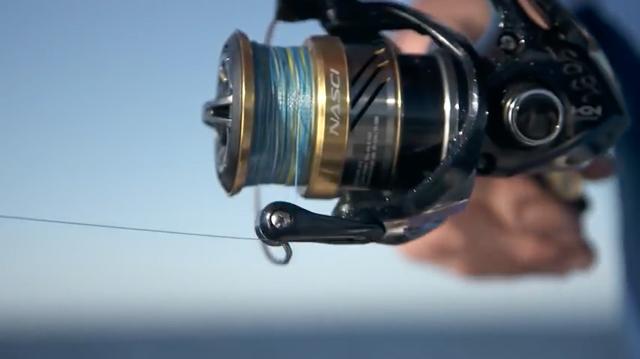 釣りを楽しくしてくれるカッコ良いデザインも魅力!