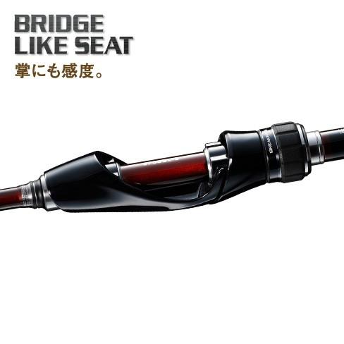 軽量かつ高感度の素材「CI4+」を採用した「ブリッジライクシート」!