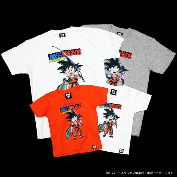 ドラゴンボール 悟空×ブラックバス コラボ Tシャツ(バスブリゲード)