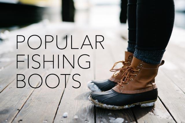 人気の「釣り防寒ブーツ」おすすめランキング。2016年冬のまとめと