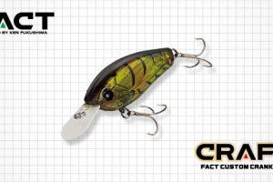 エバーグリーン「ファクト クラフト」に新色追加!他に類を見ない瞬発的でキレのある「釣れるアクション」を体験しよう!