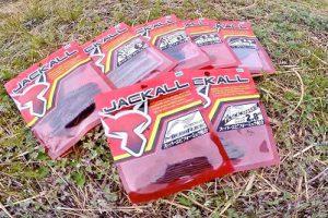 ジャッカル「赤パッケージ」シリーズ。お手軽価格で、とりあえず試したい時や、バリエーションを揃えたい時にありがたいシリーズ!