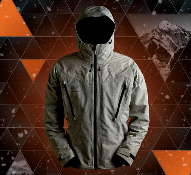 フリーノット(FREE KNOT) 光電子 ボウオン ボディグリッドジャケット